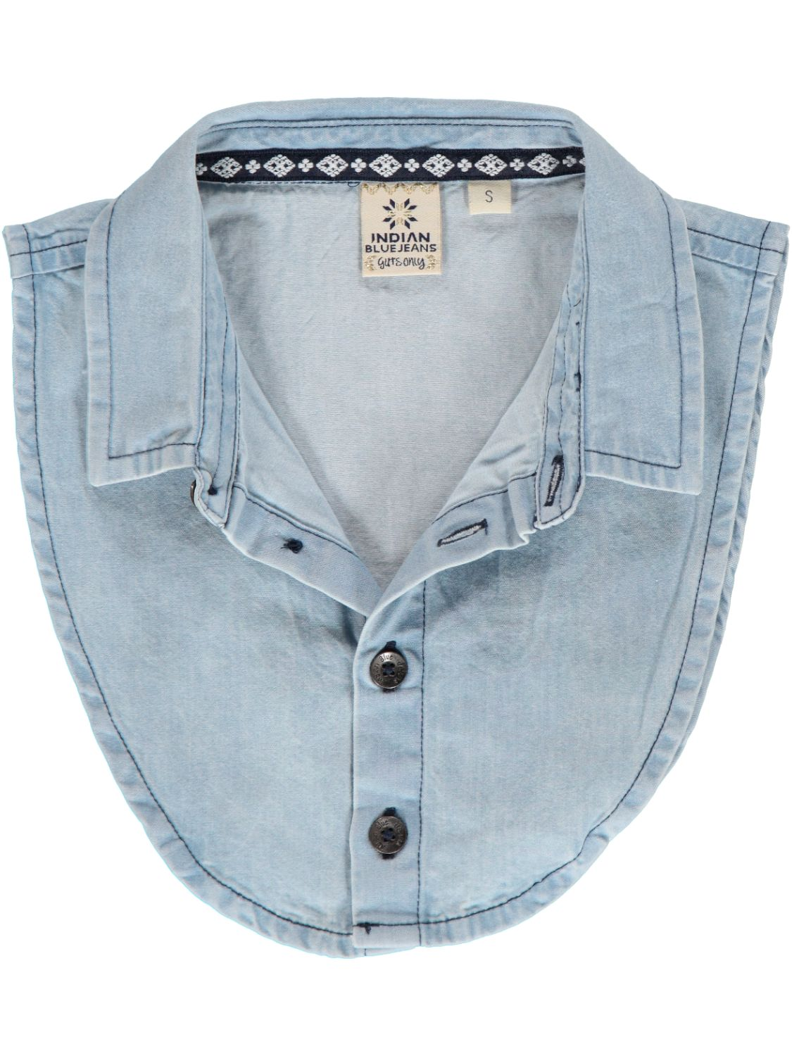 Indian Blue Jeans Kraag