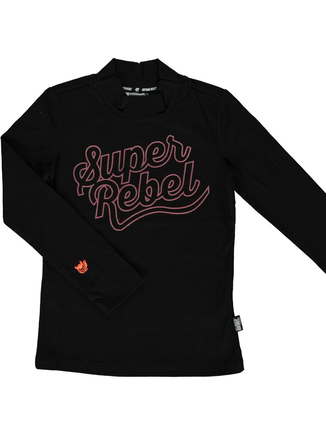 Super Rebel Shirt lange mouw